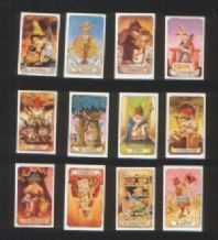 The smallest Tarot on the World. Miniature playing card